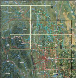 North Poudre System Map