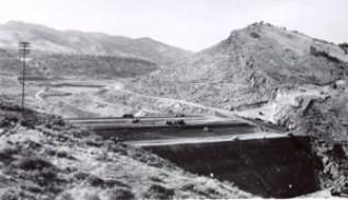 Spring Canyon Dam 1947