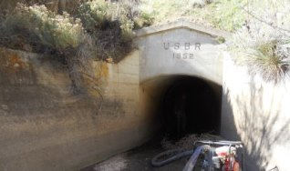 Munroe Canal tunnel